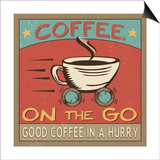 Coffeehouse III Prints by  Pela