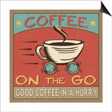 Coffeehouse III Prints by  Pela