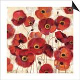 Bold Poppies Poster by Silvia Vassileva