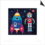 Rocket Print by Simon Hart
