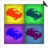 Fiat 500 Pop Art 1 Prints by  NaxArt