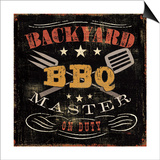 Backyard BBQ Art by  Pela
