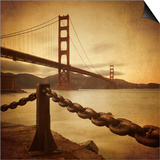 Vintage Golden Gate Prints by Philippe Sainte-Laudy