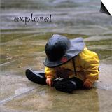 Explore: Child in the Rain Posters by Nicole Katano