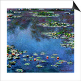 Water Lilies, 1906 Posters by Claude Monet