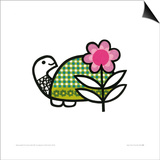 Happy Tortoise Prints by Jane Foster