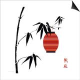 Geisha II Print by Jenny Tsang