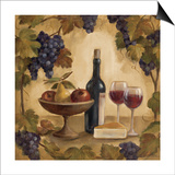 Wine and Cheese I Posters by Silvia Vassileva