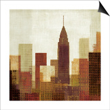 Summer in the City III Prints by Mo Mullan