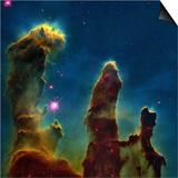 Gas Pillars In the Eagle Nebula Prints by  NASA