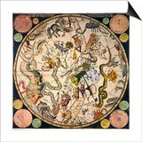 Celestial Hemisphere, 1790 Posters by James Barlow