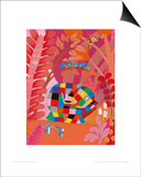 Elmer and Friends Posters by David Mckee