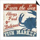 Fresh Seafood IV Prints by  Pela