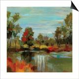 Hidden Pond Hues I Prints by Silvia Vassileva