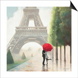 Paris Romance II Posters by Marco Fabiano