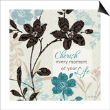 Botanical Touch Quote I Print by Lisa Audit