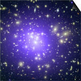 Abell 1689 Galaxy Cluster, X-ray Image Prints
