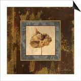 Autumn Leaf Square II Prints by Silvia Vassileva