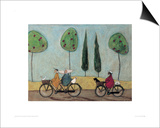 A Nice Day For It Print by Sam Toft