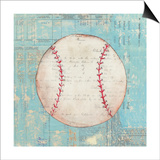 Play Ball I Art by Courtney Prahl