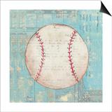 Play Ball I Art by Courtney Prahl
