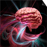 Brain Research, Conceptual Artwork Poster by Laguna Design
