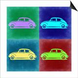 VW Beetle Pop Art 3 Print by  NaxArt