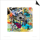 KALEIDOSCOPE (Zebra) Prints by Ben Allen