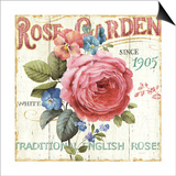Rose Garden I Posters by Lisa Audit