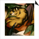 Marc: The Tiger, 1912 Poster by Franz Marc