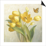 Yellow French Tulips Posters by Danhui Nai