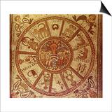Zodiac, Roman Mosaic Posters