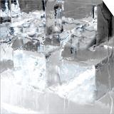 Ice Blocks I Poster by Graeme Montgomery