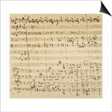 Mozart: Requiem Excerpt Art
