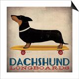 Ryan Fowler - Dachshund Longboards Obrazy