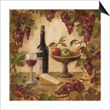 Wine and Cheese II Art by Silvia Vassileva
