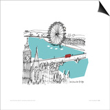 London I Posters by Susie Brooks