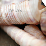 Relax Posters by Nicole Katano