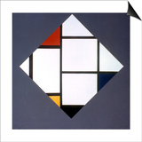 Mondrian: Composition Prints by Piet Mondrian