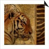 Elegant Safari II (Tiger) Prints by Patricia Quintero-Pinto