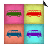 VW Bus Pop Art 1 Art by  NaxArt