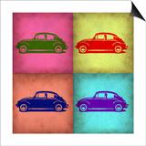 VW Beetle Pop Art 1 Prints by  NaxArt