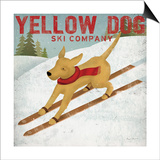 Yellow Dog Ski Co Posters by Ryan Fowler