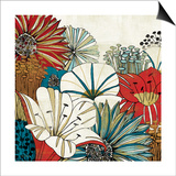 Contemporary Garden I Prints by Mo Mullan