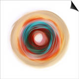 Soft Circle Prints by Anna Polanski
