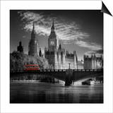 London Bus IV Print by Jurek Nems