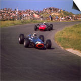 1966 Dutch Grand Prix, Jackie Stewart in BRM Print