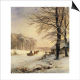 Homeward Bound Print by Anders Andersen-Lundby