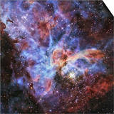Carina Nebula, NGC 3372 Prints by  Stocktrek Images