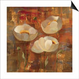 Floral Trio II Posters by Silvia Vassileva